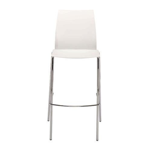 FF Jemini White Tall Bistro Chair KF79032