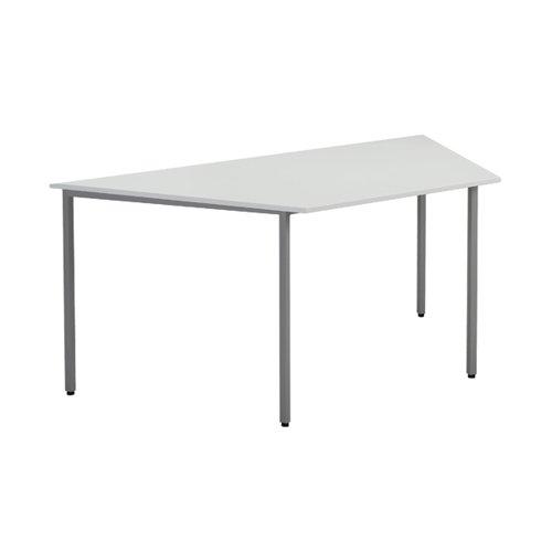 Jemini Trapezoidal Table W1600 Wht KF79036