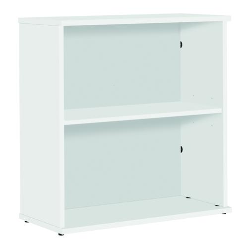 Serrion Small Bookcase 800mm White KF79441