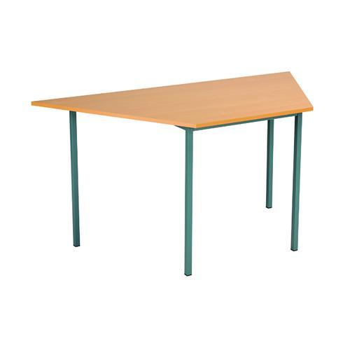 Serrion Trapezoidal Table 1500mm Bavarian Beech ETRAPT1500BE