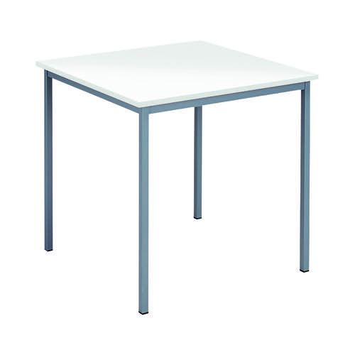 Serrion Square Table 750mm White KF79846