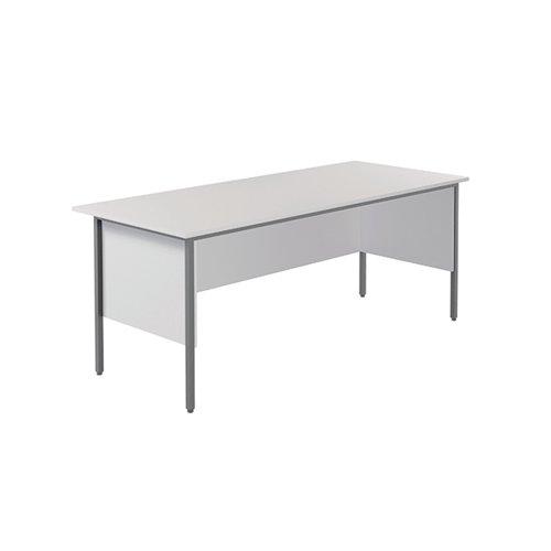 Serrion Rectangular 4 Leg Desk 1800x750x730mm White KF800024