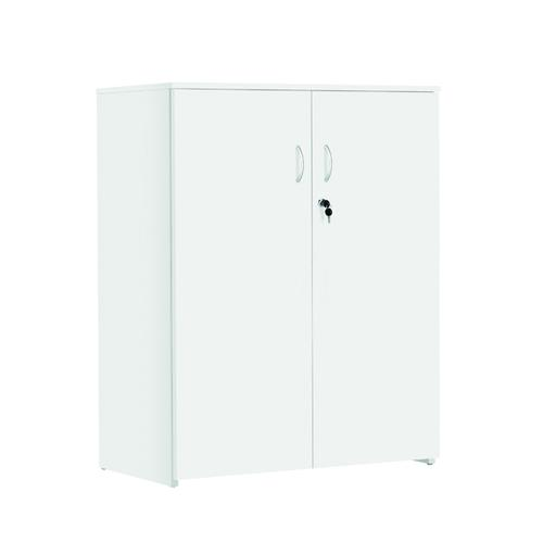 Serrion Medium Storage Cupboard 1225mm White KF800120