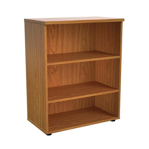 First 1000 Wooden Bookcase 450mm Depth Nova Oak KF803621
