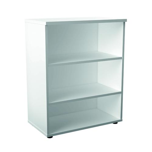 First 1000 Wooden Bookcase 450mm Depth White KF803638