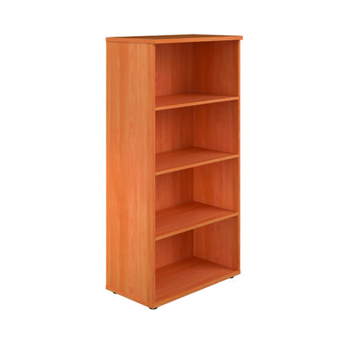 First 1600 Wooden Bookcase 450mm Depth Beech KF803683