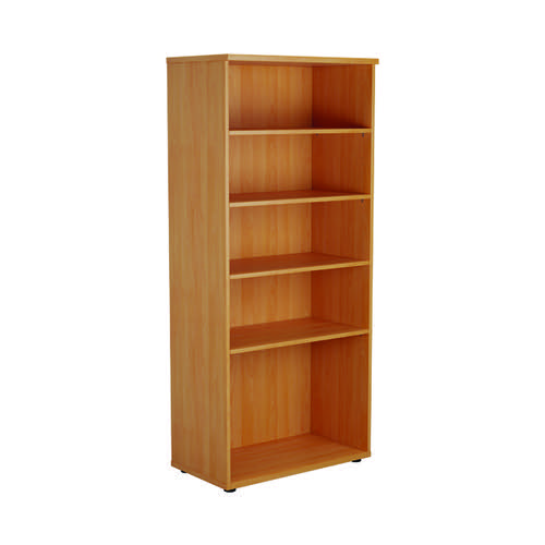 First 1800 Wooden Bookcase 450mm Depth Beech KF803713