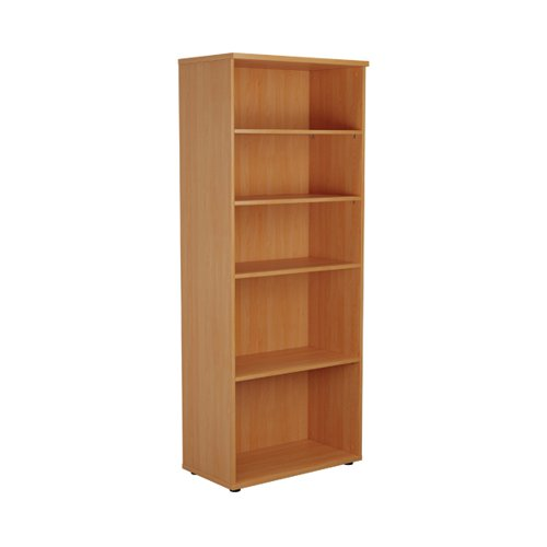 First 2000 Wooden Bookcase 450mm Depth Beech KF803744