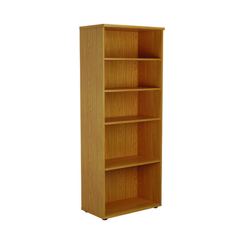First 2000 Wooden Bookcase 450mm Depth Nova Oak KF803751