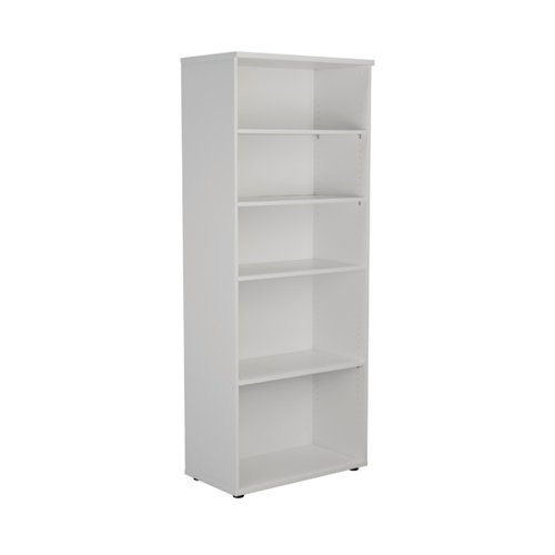 First 2000 Wooden Bookcase 450mm Depth White KF803768