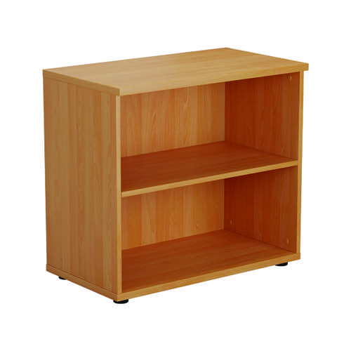 First 700 Wooden Bookcase 450mm Depth Beech KF803775
