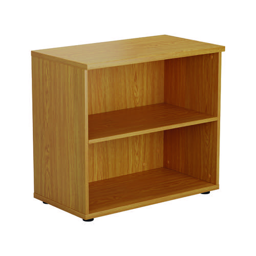 First 700 Wooden Bookcase 450mm Depth Nova Oak KF803782
