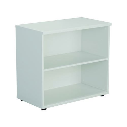 First 700 Wooden Bookcase 450mm Depth White KF803799