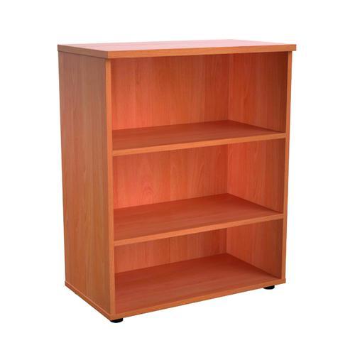 Jemini 1000 Wooden Bookcase 450mm Depth Beech KF810049