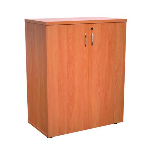 Jemini 1000 Wooden Cupboard 450mm Depth Beech KF810056