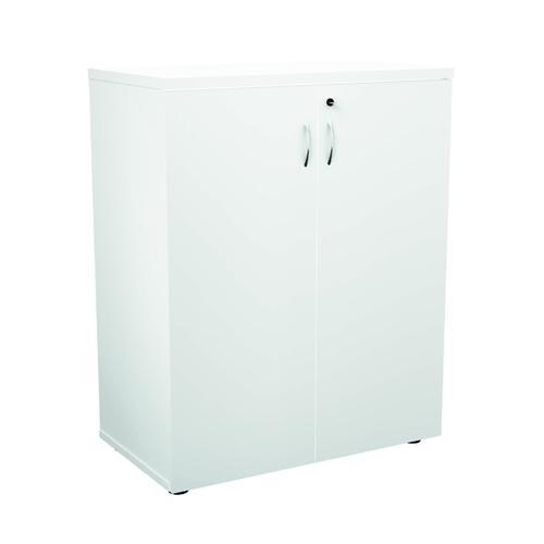 Jemini 1000 Wooden Cupboard 450mm Depth White KF810100