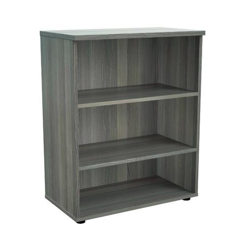 Jemini 1000 Wooden Bookcase 450mm Depth Grey Oak KF810179
