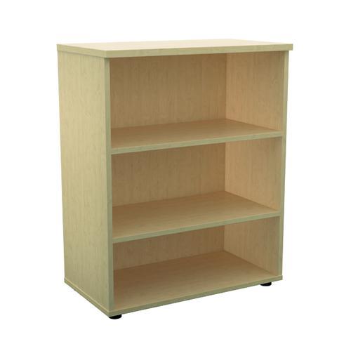 Jemini 1000 Wooden Bookcase 450mm Depth Maple KF810186