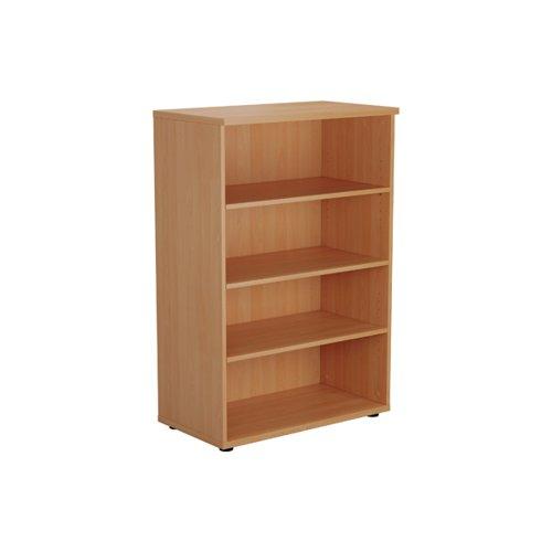Jemini Wooden Bookcase 800x450x1200mm Beech KF810216