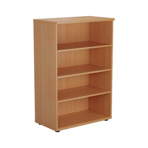 Jemini 1600 Wooden Bookcase 450mm Depth Beech KF810384