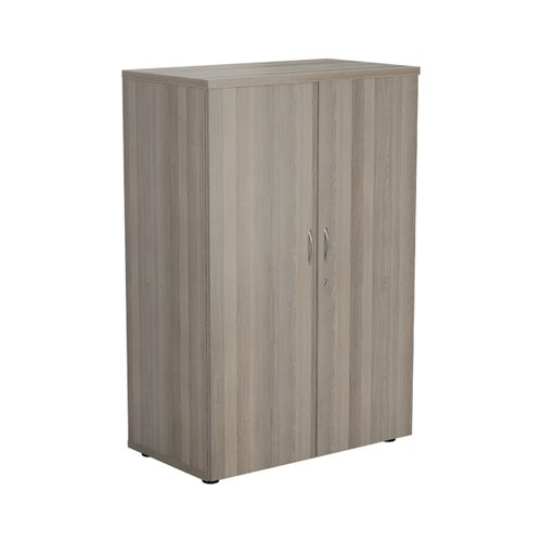 Jemini 1600 Wooden Cupboard 450mm Depth Grey Oak KF810414