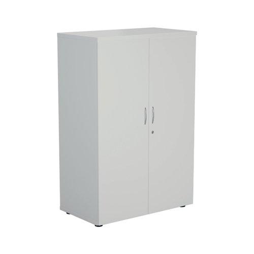 Jemini 1600 Wooden Cupboard 450mm Depth White KF810445
