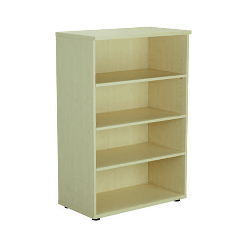 Jemini 1600 Wooden Bookcase 450mm Depth Maple KF810520