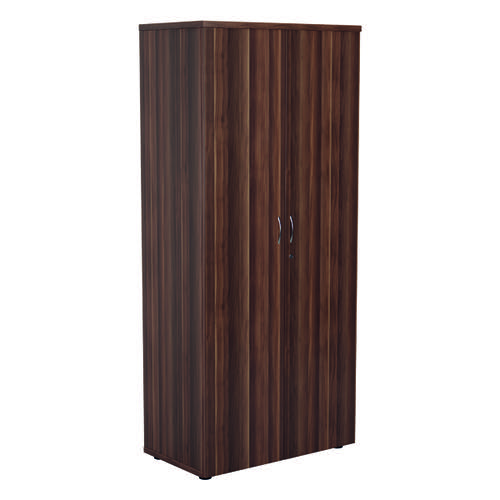 Jemini 1800 Wooden Cupboard 450mm Depth Dark Walnut KF810575