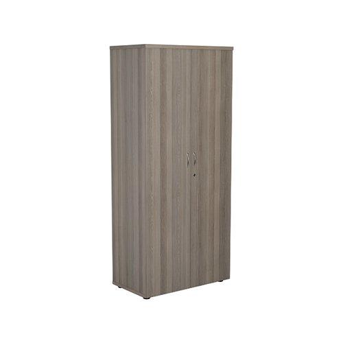 Jemini 1800 Wooden Cupboard 450mm Depth Grey Oak KF810582