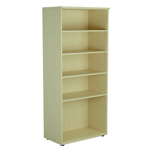 Jemini 1800 Wooden Bookcase 450mm Depth Maple KF811008