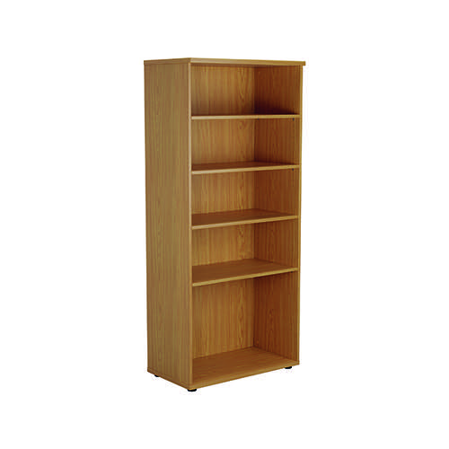 Jemini 1800 Wooden Bookcase 450mm Depth Nova Oak KF811015