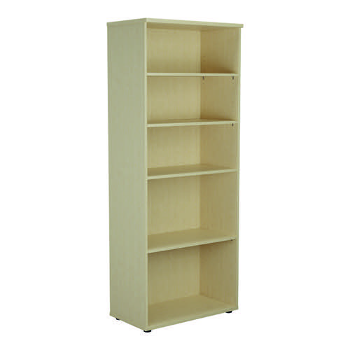 Jemini 2000 Wooden Bookcase 450mm Depth Maple KF811176