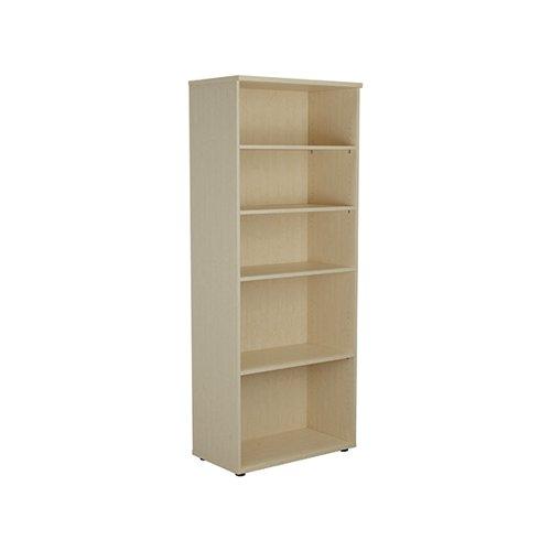 Jemini Wooden Bookcase 800x450x2000mm Maple KF811176