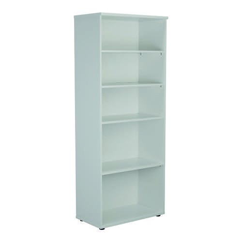 Jemini 2000 Wooden Bookcase 450mm Depth White KF811190