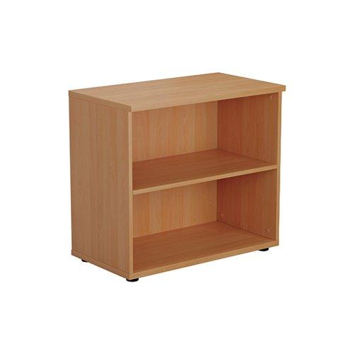Jemini Wooden Bookcase 800x450x730mm Beech KF811206
