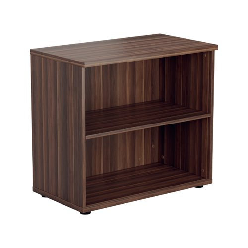 Jemini 700 Wooden Bookcase 450mm Depth Dark Walnut KF811329
