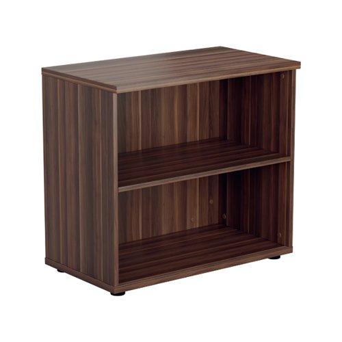 Jemini Wooden Bookcase 800x450x730mm Dark Walnut KF811329