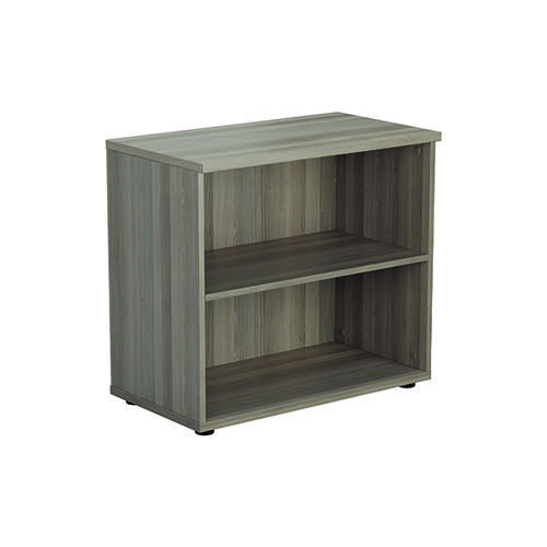 Jemini 700 Wooden Bookcase 450mm Depth Grey Oak KF811336