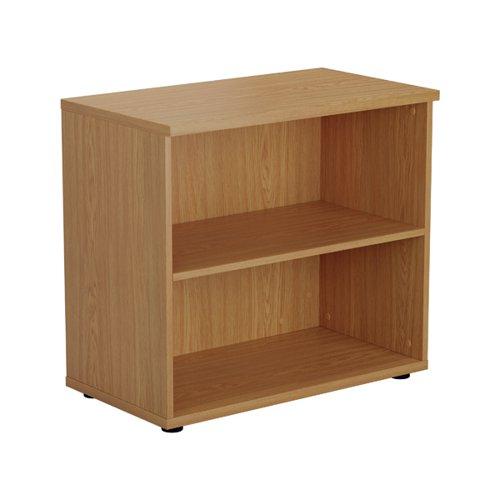 Jemini Wooden Bookcase 800x450x730mm Nova Oak KF811350