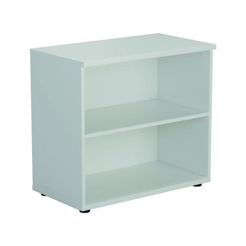 Jemini 700 Wooden Bookcase 450mm Depth White KF811367