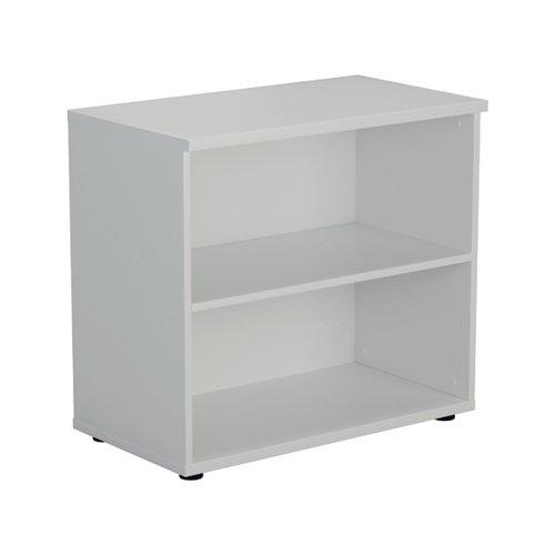 Jemini Wooden Bookcase 800x450x730mm White KF811367
