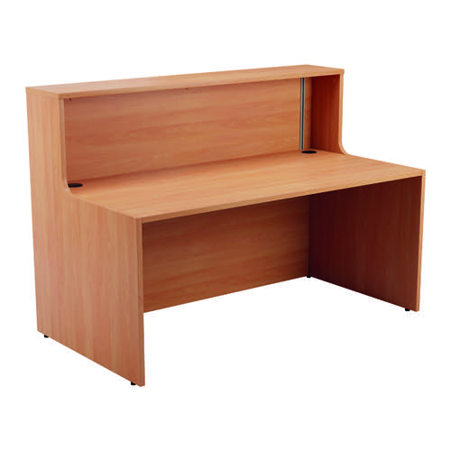 Jemini Reception Unit 1400mm Beech KF816265