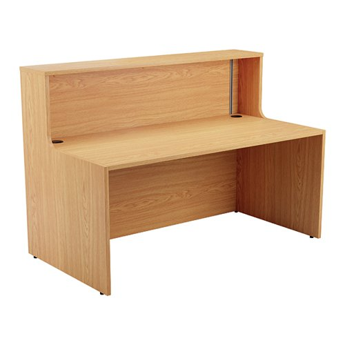 Jemini Reception Unit 1600mm Nova Oak KF816319