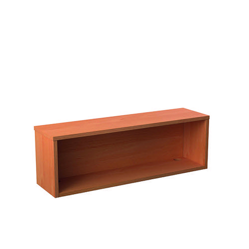 Jemini Reception Modular Straight Hutch Unit 1200mm Beech KF816432