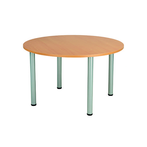 Jemini Circular Meeting Table Beech KF816562