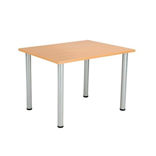 Jemini Rectangular Meeting Table Beech KF816592
