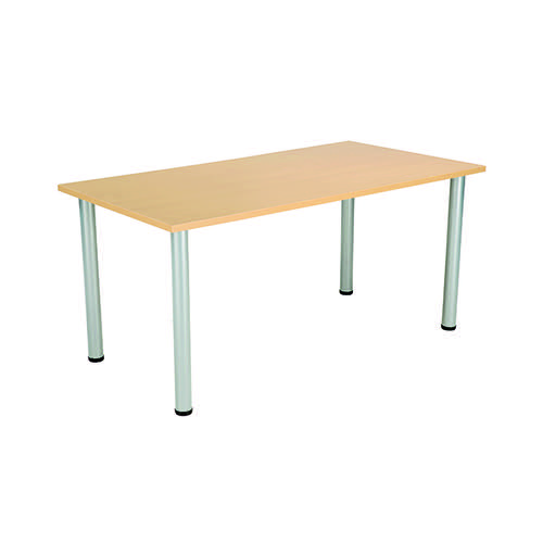 Jemini Rectangular Meeting Table Nova Oak KF816647