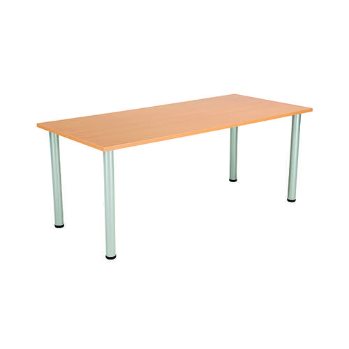 Jemini Rectangular Meeting Table Beech KF816654