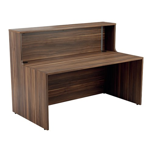 Jemini Reception Unit 1400mm Dark Walnut KF818190