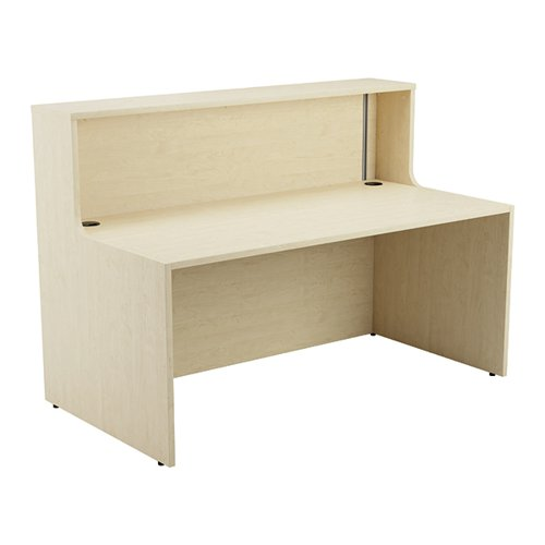 Jemini Reception Unit 1600mm Maple KF818306